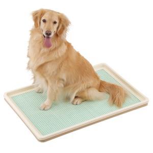 犬 トイレ トレー しつけるトレー メッシュタイプ XLサイズ|walajin-dog