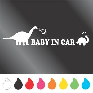 赤ちゃん ステッカー BABY IN CAR  Cタイプ walajin-dog