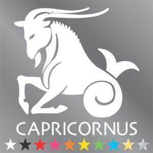 山羊座 ステッカー  やぎ座・capricornus|walajin-dog