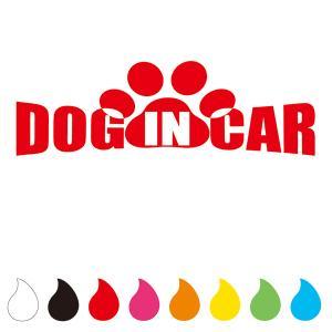 犬 ステッカー DOG IN CAR (Aタイプ)|walajin-dog