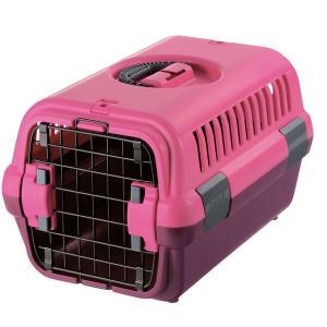 小型犬用キャリア リッチェル キャンピングキャリーM ピンク|walajin-dog