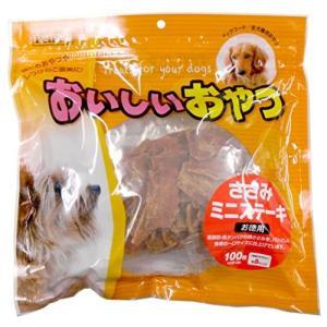ペットプロ おいしいおやつ ささみミニステーキ 100枚 walajin-dog