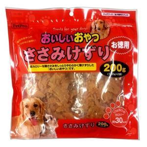 ペットプロ おいしいおやつ ささみけずり 200g walajin-dog