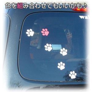 車 ステッカー ペットPAW(足跡)|walajin-dog|06