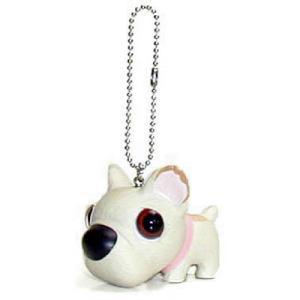 THE DOG キーホルダー フレンチブルドッグ ホワイト|walajin-dog