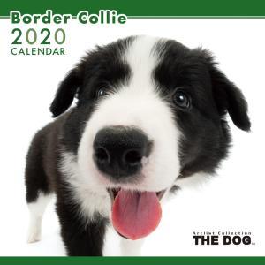 THEDOG カレンダー ボーダーコリー 2020年カレンダー 犬 グッズ 壁掛け|walajin-dog