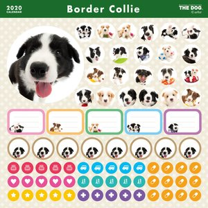 THEDOG カレンダー ボーダーコリー 2020年カレンダー 犬 グッズ 壁掛け|walajin-dog|04