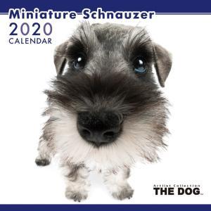 THEDOG カレンダー ミニチュアシュナウザー 2020年カレンダー 犬 グッズ 壁掛け|walajin-dog