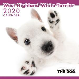 THEDOG カレンダー ウェストハイランドホワイトテリア 2020年カレンダー 犬 グッズ 壁掛け|walajin-dog