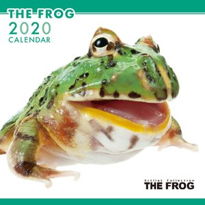 THEFROG カエル カレンダー 2020年カレンダー グッズ 壁掛け|walajin-dog