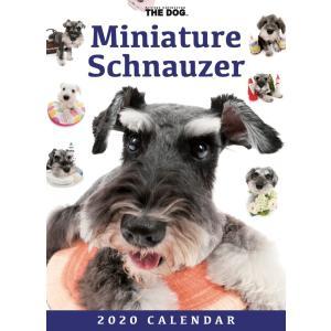 THEDOG 卓上カレンダー ミニチュアシュナウザー 2020年カレンダー グッズ 犬 いぬ|walajin-dog