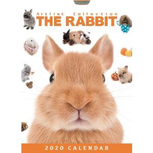 THERABBIT うさぎ 卓上カレンダー 2020年カレンダー 小動物|walajin-dog