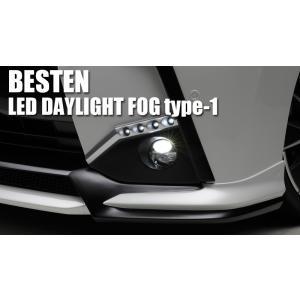 Blanballen BESTEN LED DAYLIGHT FOG type-1、LEDデイライト&LEDフォグランプ 1アイテム切換えタイプ|wald-online-store