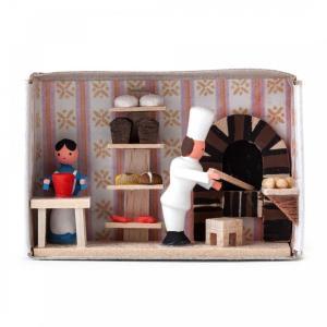 マッチ箱 パン屋さん|wald