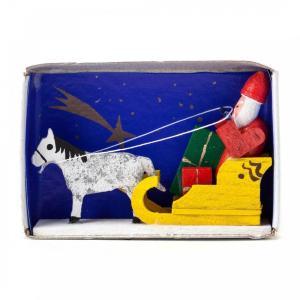 マッチ箱 サンタとトナカイ|wald