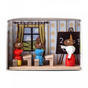 マッチ箱 ウサギの学校|wald