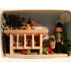 マッチ箱 ウサギ小屋|wald