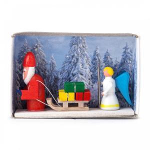 マッチ箱 サンタと天使さん|wald