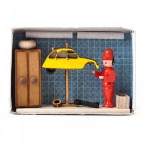 マッチ箱 自動車修理工|wald