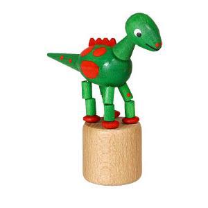 恐竜 緑 くねくね人形|wald