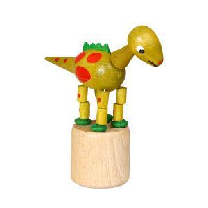 恐竜 黄 くねくね人形|wald