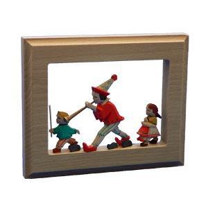 メルヘン壁掛け ハーメルンの笛吹き男|wald