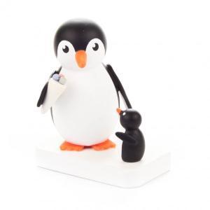 アイスを食べるペンギンの親子|wald