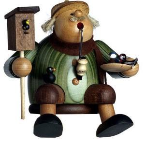 煙出し人形 小鳥屋さん 専用いす付|wald