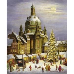 アドベントカレンダー ドレスデン聖母教会|wald
