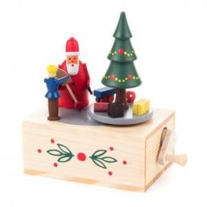 オルゴール クリスマスプレゼント サンタクロース...