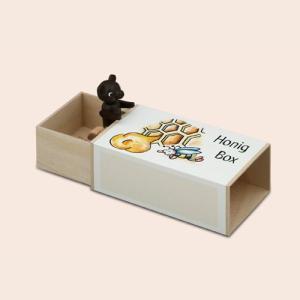 プレゼント からくりオルゴール クマとハチミツ|wald