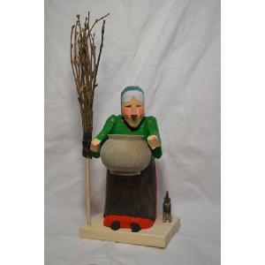 魔女と薬草のツボ 煙出し人形|wald