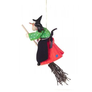 魔女とネコ 吊り下げタイプ|wald