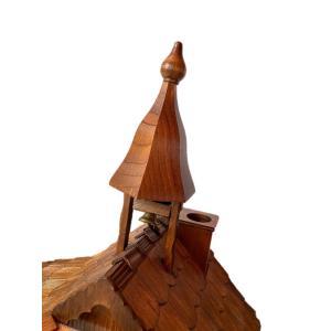 カッコー時計 白木 超大型タイプ 1071|wald|04