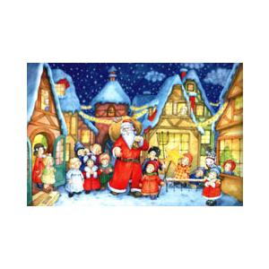 アドベントカレンダー サンタと子供達|wald