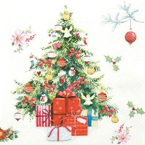 ペーパーナプキン クリスマスツリー