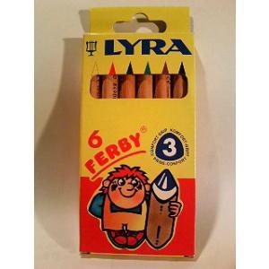 リラ社 透明色鉛筆 6色入り|wald