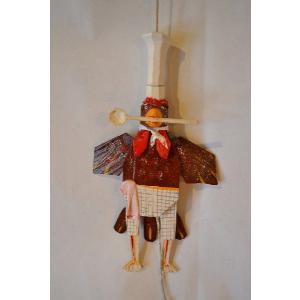 コック ニワトリ ハンぺルマン人形|wald