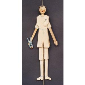 歯医者 ハンぺルマン人形|wald