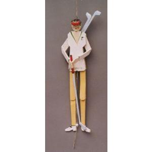 ゴルファー ハンぺルマン人形|wald