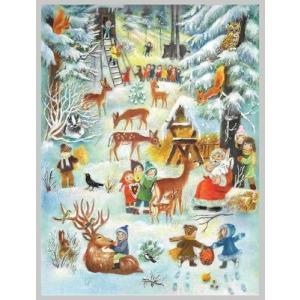 アドベントカレンダー 森の中のクリスマス|wald