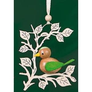 オーナメント 小鳥 緑|wald