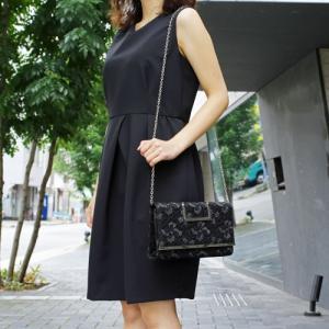 パーティーバッグ クラッチ 3way ファッション 黒ブラック 花柄 合皮 レース 結婚式 二次会披...