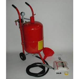 直圧サンドブラスター 10ガロン (k007r)|walktool
