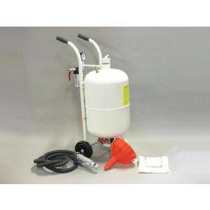 直圧サンドブラスター 10ガロン  白  (k007w)|walktool