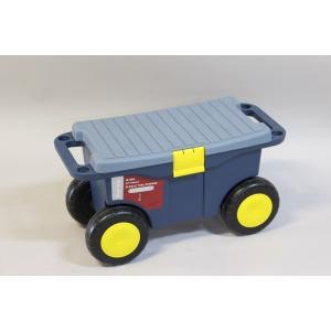 (k1190)腰かけ ガーデニングカート  作業シート walktool