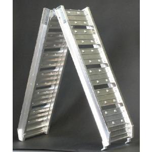 折りたたみ式アルミスロープ k182|walktool