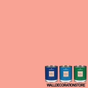 水性ペンキ ベンジャミンムーア  011 paradise peach ガロン缶 3.8L 塗料 リーガルセレクト|walldecorationstore