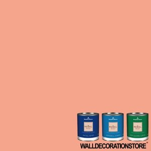 水性ペンキ ベンジャミンムーア  018 monticello peach ガロン缶 3.8L 塗料 リーガルセレクト|walldecorationstore