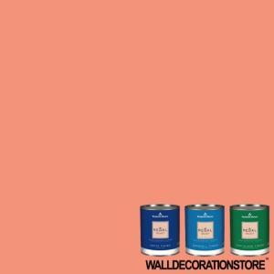 水性ペンキ ベンジャミンムーア  019 salmon run クォート缶 0.9L 塗料 リーガルセレクト|walldecorationstore